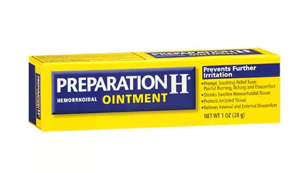 preparation h and your eyes